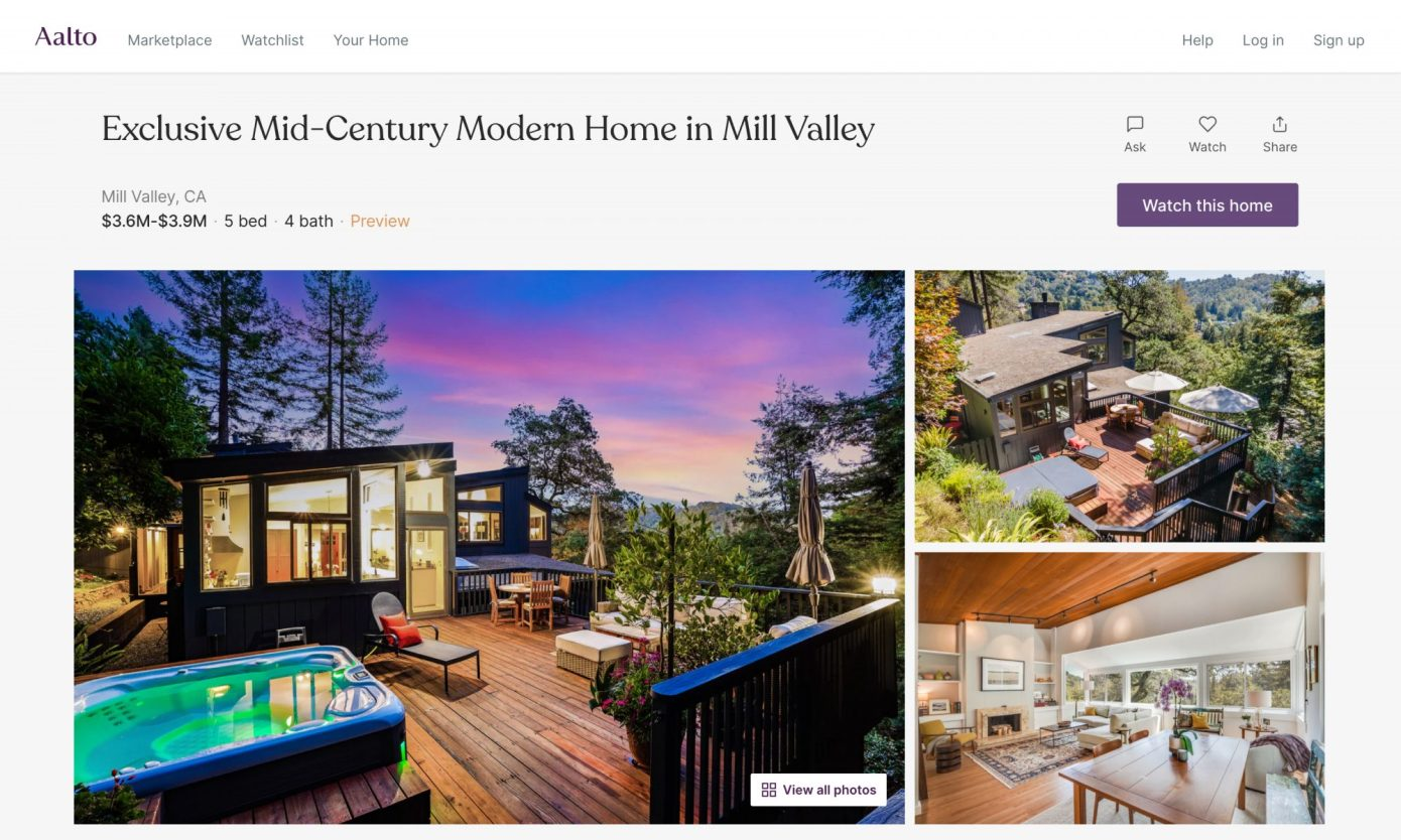 Sequoia Leads $13M Investment in Aalto, An Online Marketplace That Lets Homeowners Sell Directly To Buyers