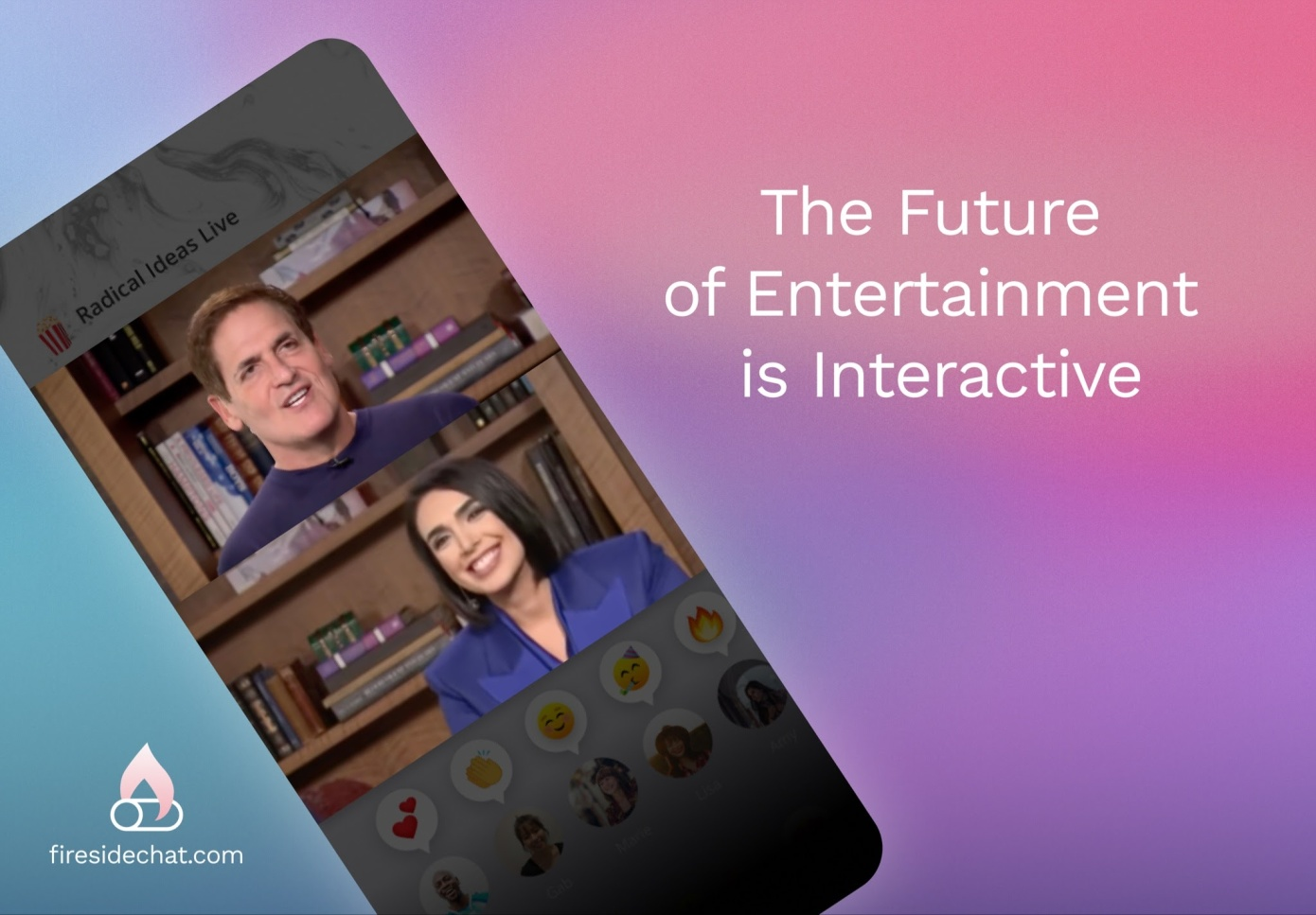 Mark Cuban-Backed Live Entertainment App Fireside Launches to Creators